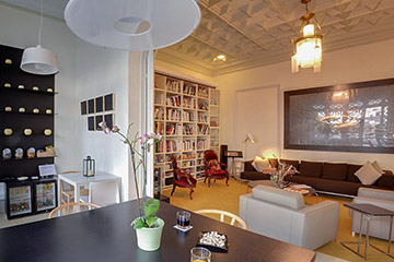A hotel with magic in the eixample district of Barcelona